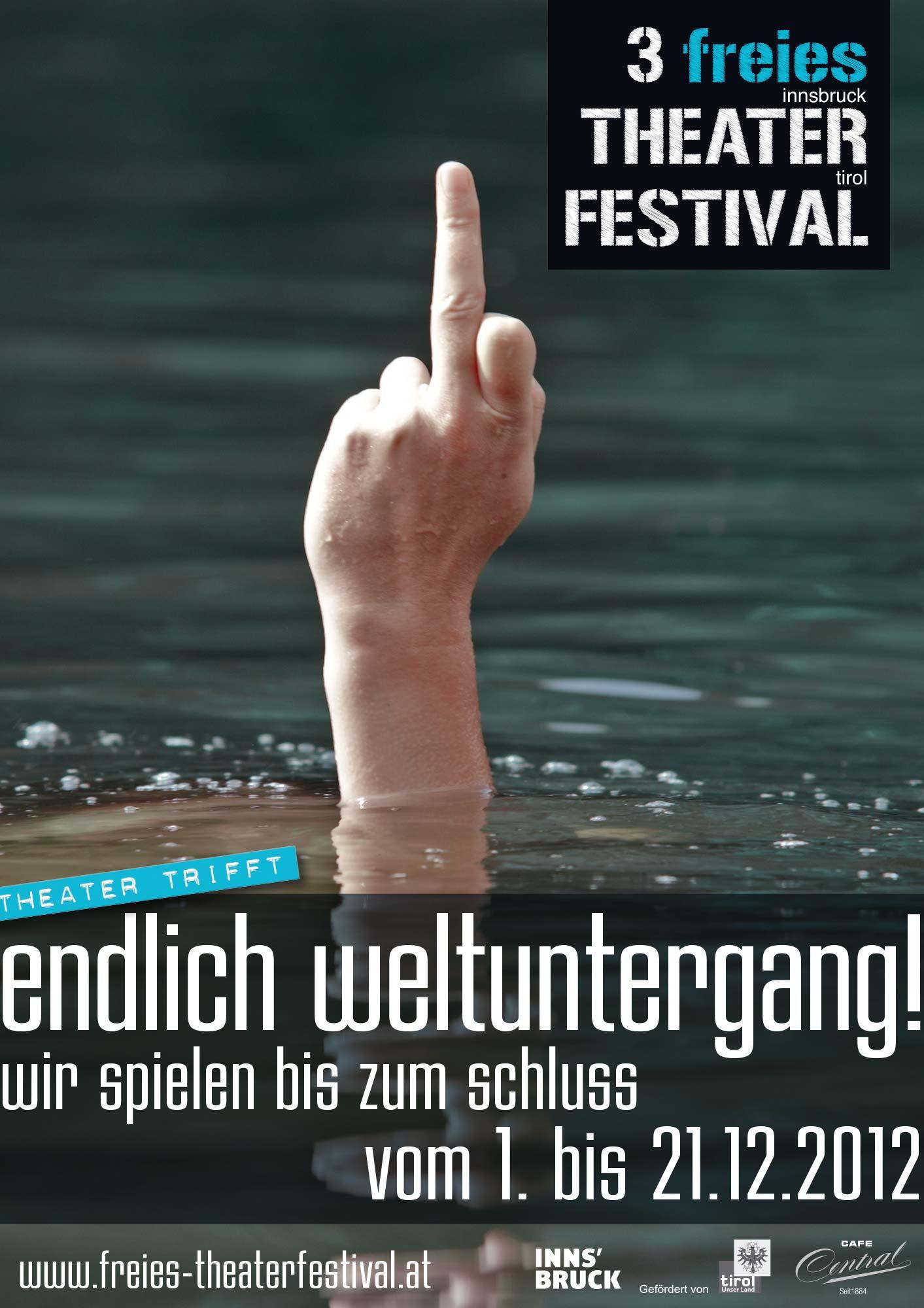 Plakat 2 für Theaterfestival
