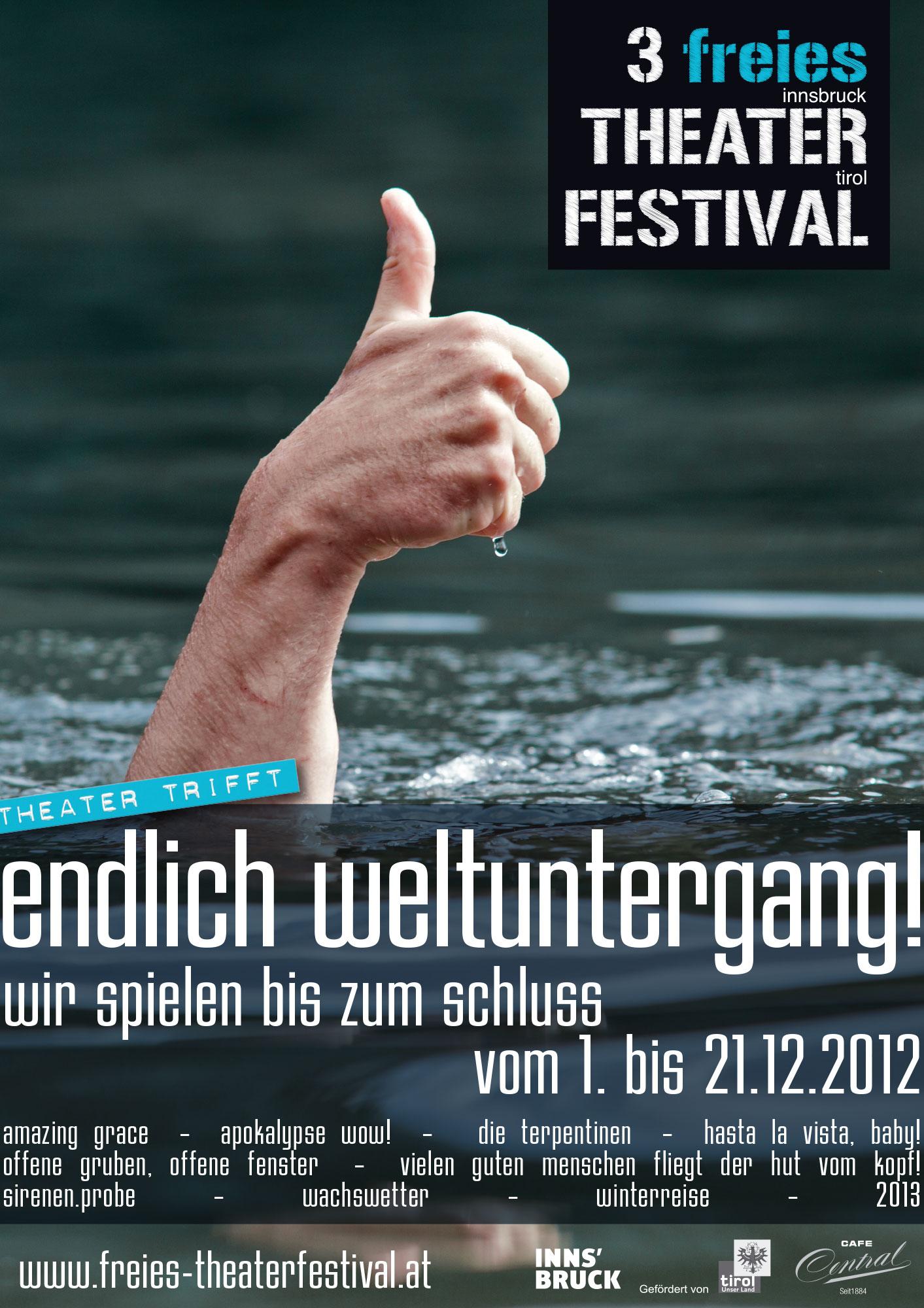 Plakat 3 Theaterfestival