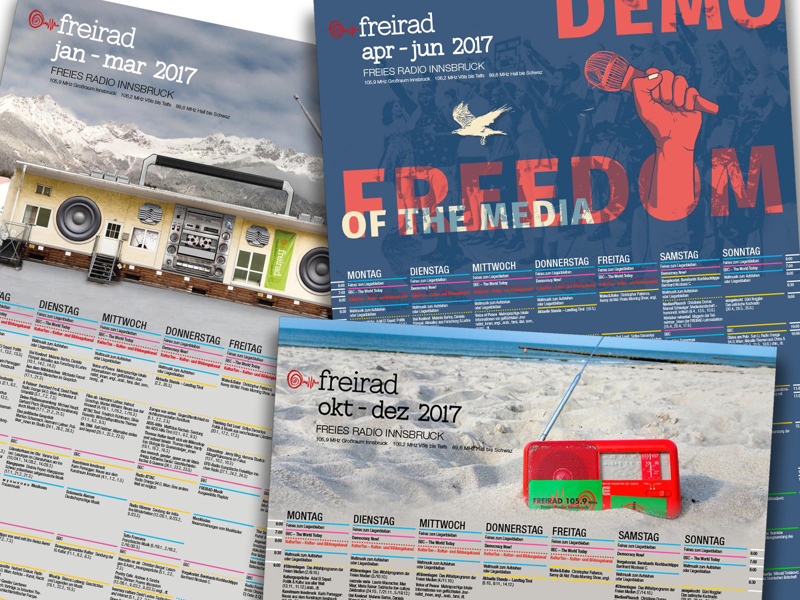 Freirad Programm 2017
