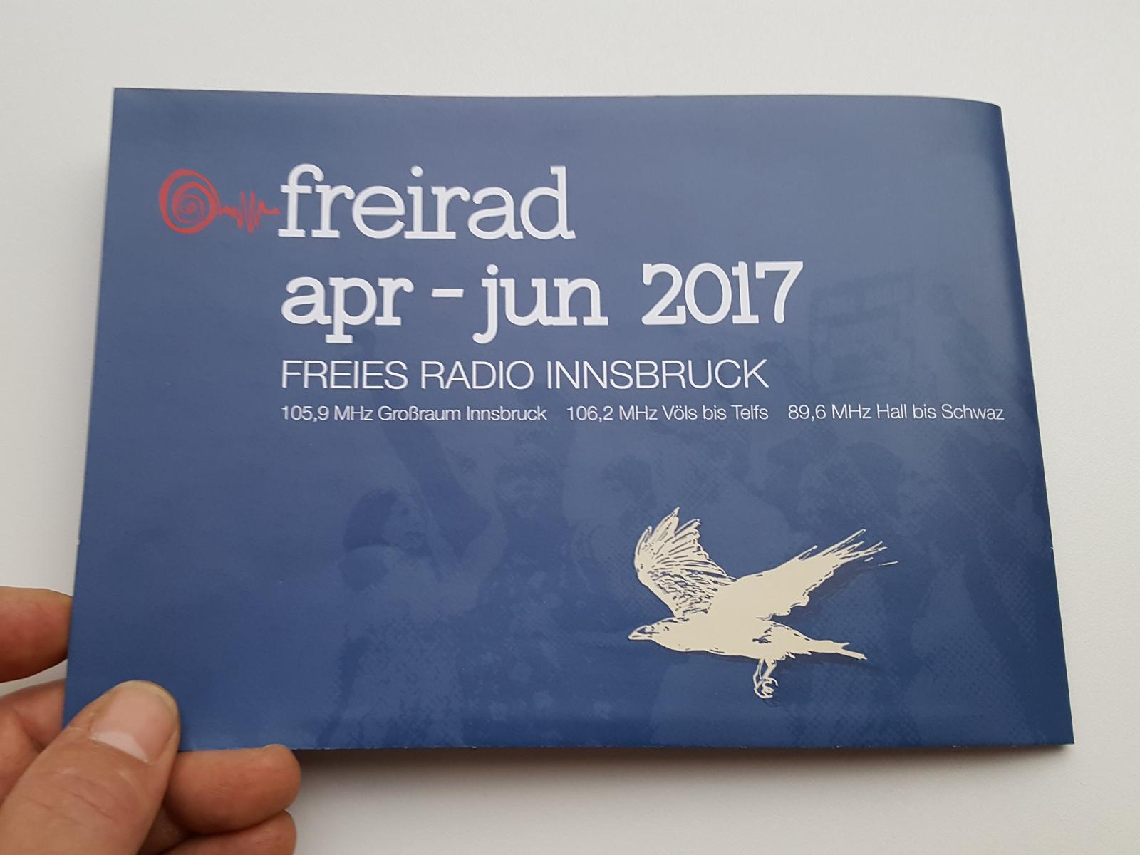 Freirad Programm 2017 gefaltet